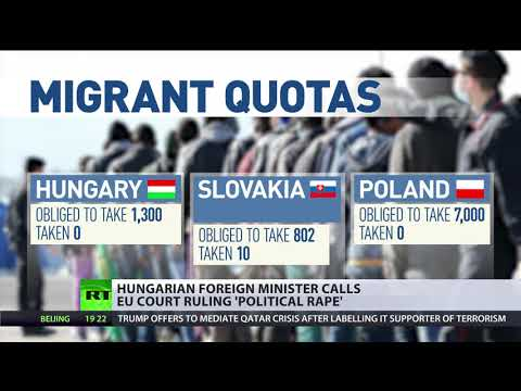 'Political rape': Hungary and Slovakia stand against EU migrant quotas