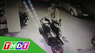 Đột nhập khách sạn trộm xe máy ở TP. HCM   THDT