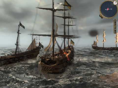 Shogun 2 Fall Of The Samurai Wallpaper Empire Total War Pirates Of Antigua Naval Battle
