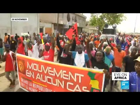 Opposition supporters in Togo take to the streets over upcoming elections