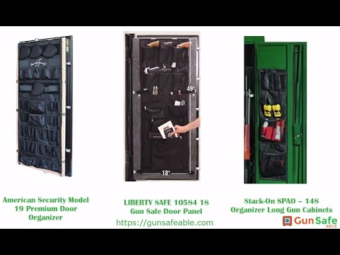 Gun Safe Door Organizer Reviews Comparison And Guides 2017