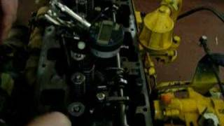 Cat 3116 Diesel Engine Synchronization Step 2