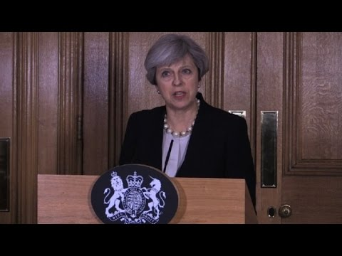 British military personnel deployed to support armed police: May