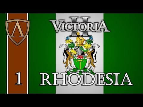 Let's Play Victoria II -- HFM -- Transvaal/Rhodesia -- Part 1