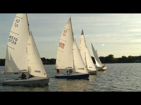 Medicine Lake Sailing Club races off every week