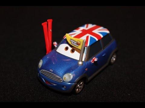 Mattel Disney Cars Ronnie Del Cooper Lightning Mcqueen Fan Mini