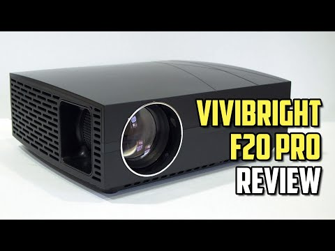 ViviBright F20 Pro Review - Cheapest yet Performing 1080P LCD Projector - Meet the new Budget King!