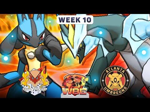 Pokemon Sun & Moon WiFi Battle • Bristol City Blazikens vs Atlanta Umbreons • WBE W10S1
