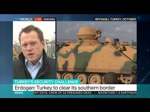 President Erdogan says Turkey to crush terror army in northern Syria