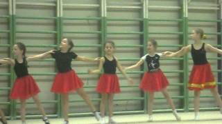 Открытый урок по хореографии:27.12.2011.
