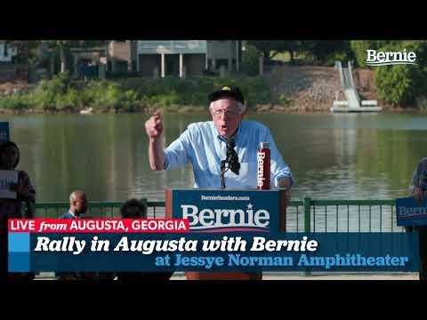 Bernie 2020 Rally in Augusta, Georgia