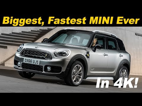2018 MINI Countryman Hybrid Review / Comparison - In 4K