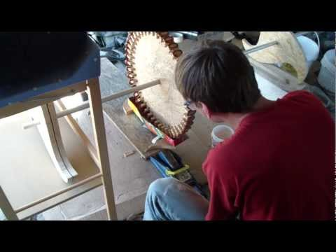 windrad generator eigenbau teil 1 testgenerator bauen doovi. Black Bedroom Furniture Sets. Home Design Ideas