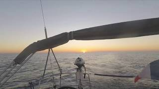 Sailing Jaza Bee II  pluie d'étoiles filantes traversée d'Ibiza à Burriana  20 octobre  2017