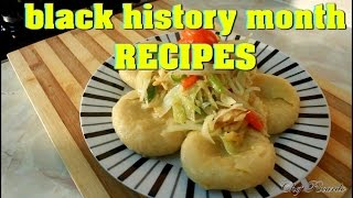 Black History Month Recipes Stir Fried Cabbage And Saltfish And Dumpling | Recipes By Chef Ricardo