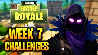 FORTNITE NEW WEEK 7 DÉFIS FUITE! TOUTE LA SAISON 3 SEMAINE 7 CHALLENGES GUIDE (FORTNITE BATTLE ROYALE)