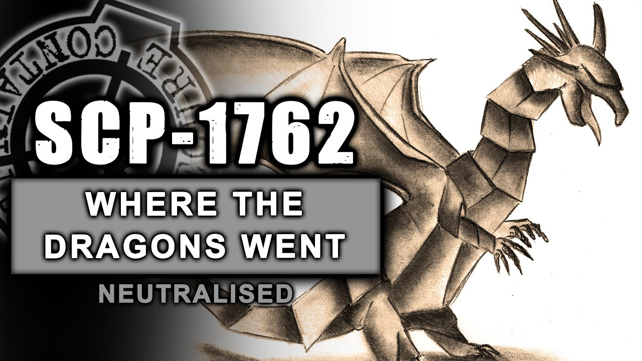 SCP-1762 illustrated (Where the Dragons Went)