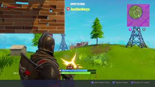 Cheaters on Fortnite solo
