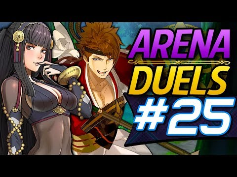 Fire Emblem Heroes: Arena Duels #25 - Rhajat & Shiro's Defense Tactic Mixed team! [Arena Showcase]