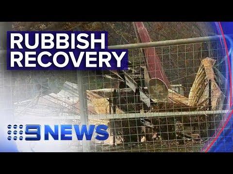 Excessive Rubbish Creates New Crisis In Fire Ravaged Communities   Nine News Australia