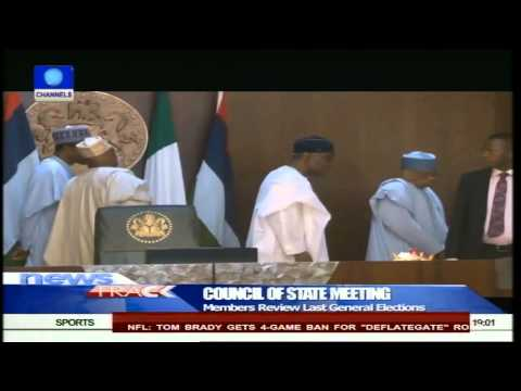 Jonathan To Handover Instruments Of Office To Council Of State 12/05/15