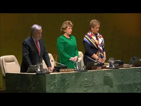Honoring the Victims of the Plane Crash in Ethiopia - UN Moment of Silence