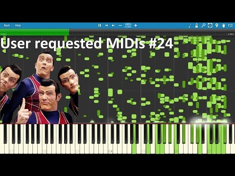 We Are Number One converted to MIDI +...