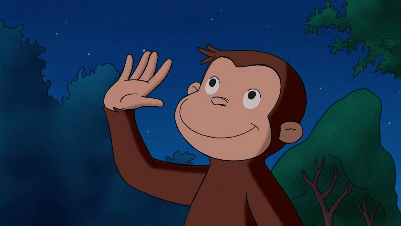 Exploring the Night | Curious George | Cartoons for Kids | WildBrain Kids