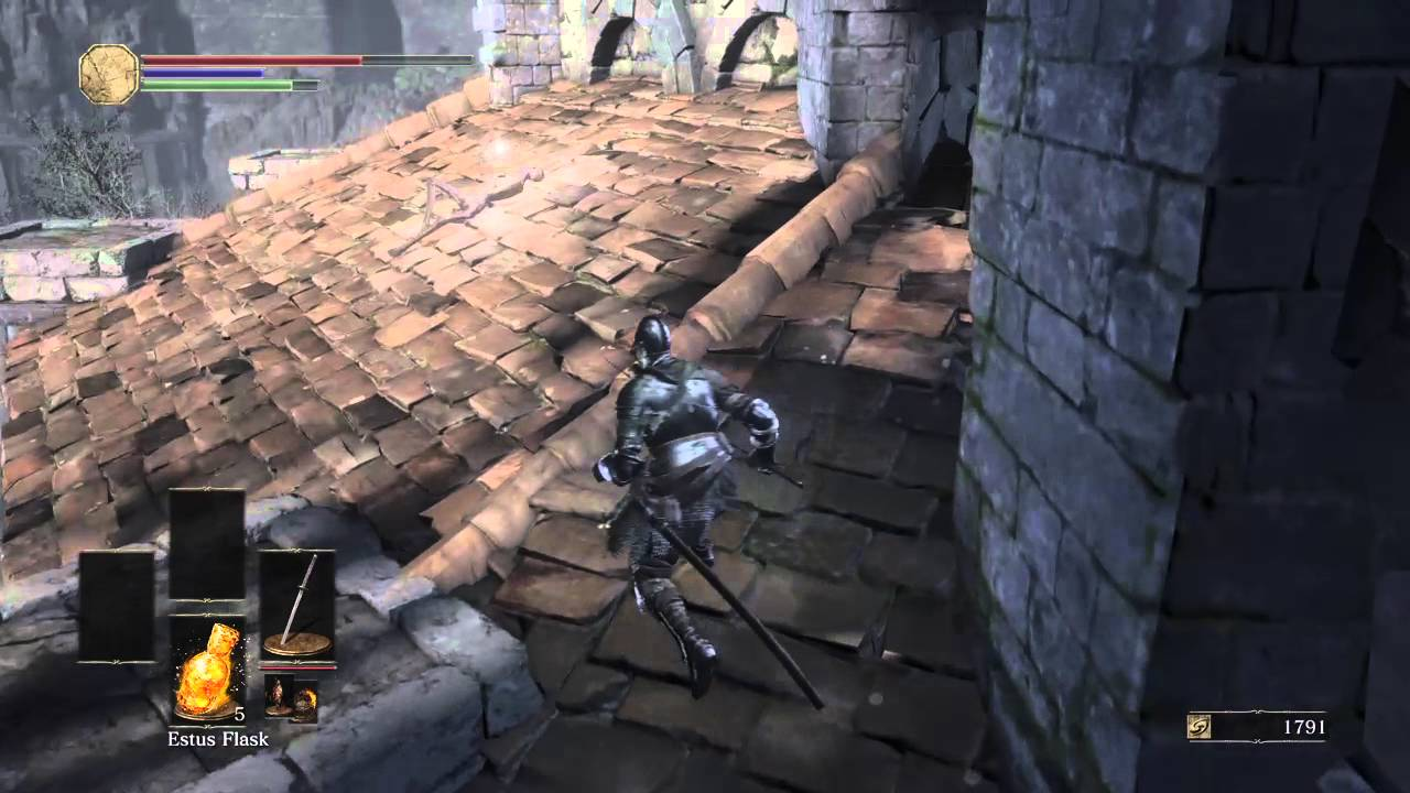 Dark Souls 3 Get To The Roof Of Firelink Early Tree Jump Trick Youtube