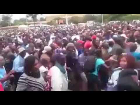 Unbelievable scenes from Zimbabwe