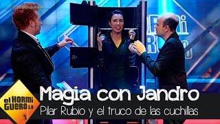 Jandro y Yunque 'trocean' a Pilar Rubio - El Hormiguero 3.0