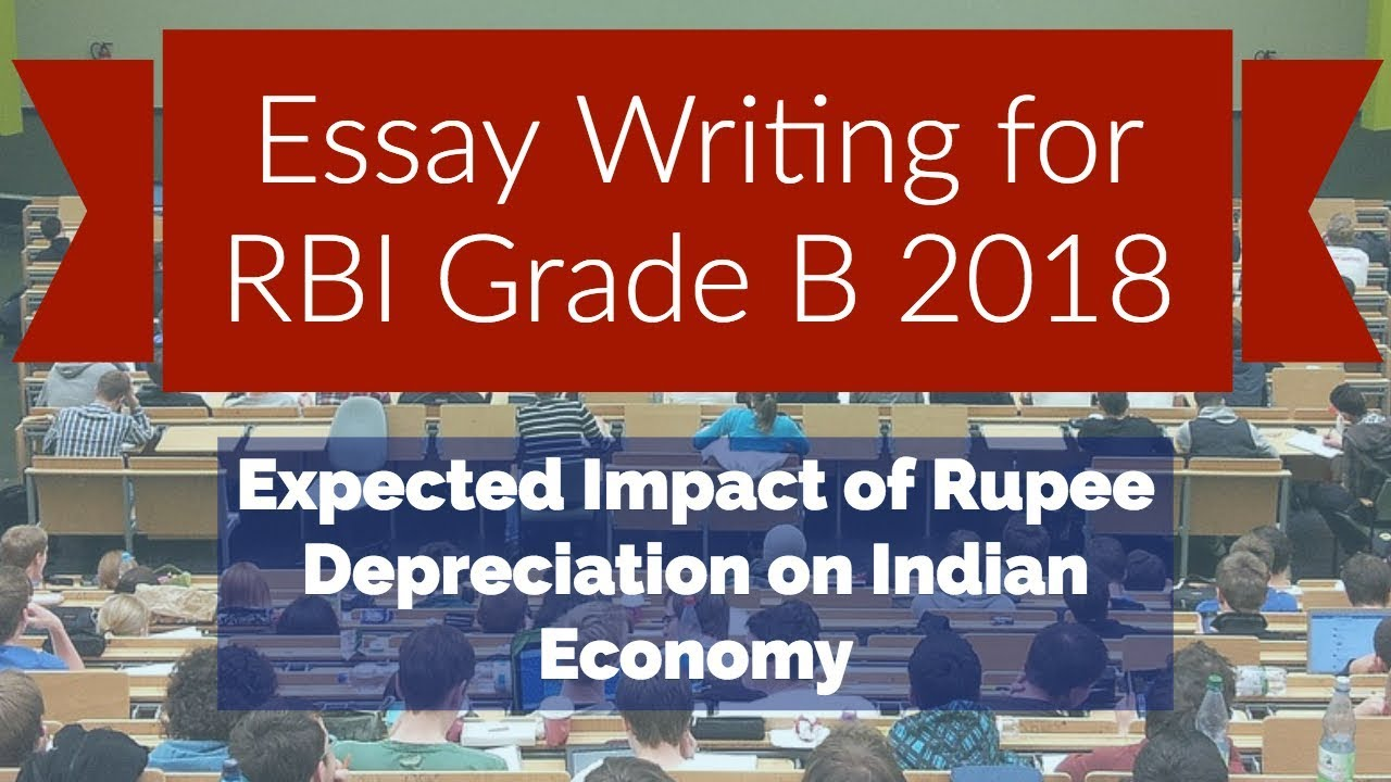Essay  Rbi   English  Phase   Expected Impact Of Rupee  Essay  Rbi   English  Phase   Expected Impact Of Rupee  Depreciation On Indian Economy Modern Science Essay also English Essay Outline Format  Sample High School Essay