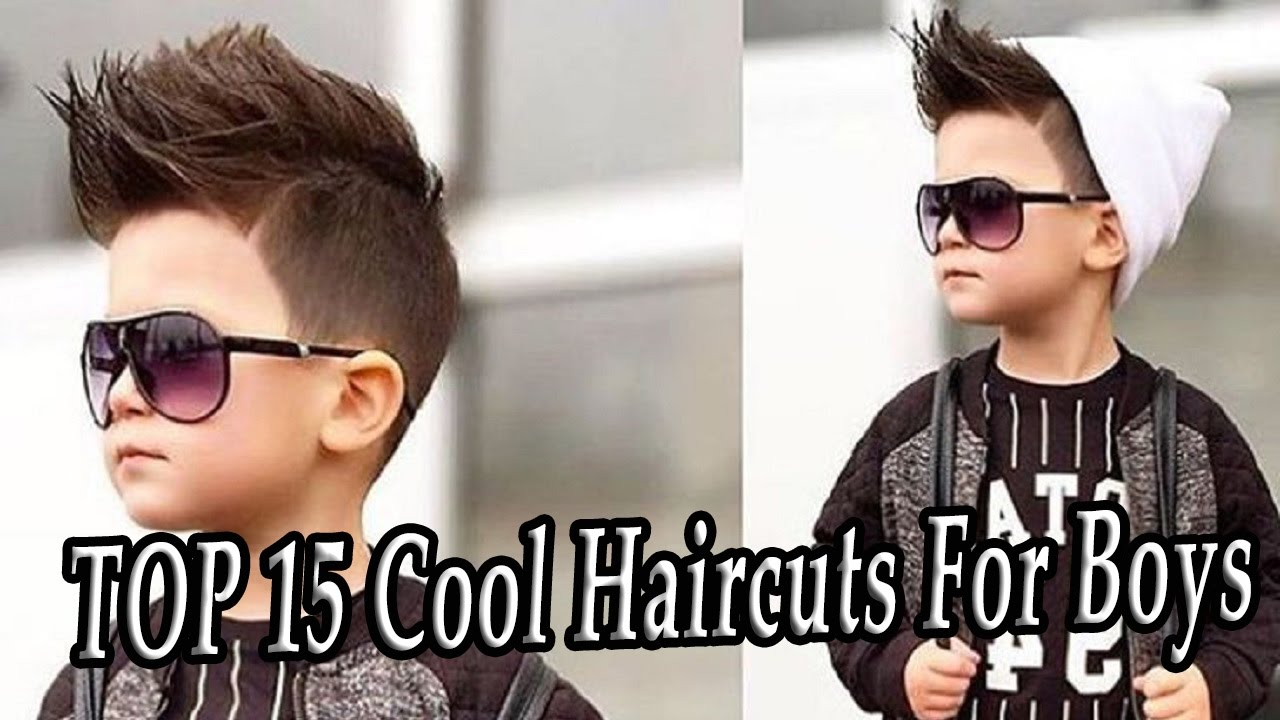 Cool Hair Styles For Kids: TOP 15 Cool Haircuts For Boys. New Hairstyles For Boys