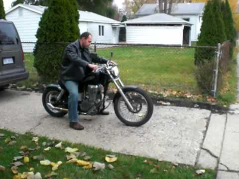 1986 Suzuki Savage LS 650 - YouTube