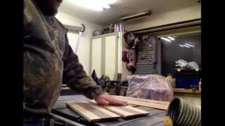Woodworking Part 3 Building A Custom Hardwood Memorial Flag Display Case