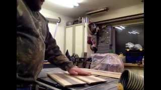 Woodworking Part 3 Building A Custom Hardwood Memorial Flag Display Case