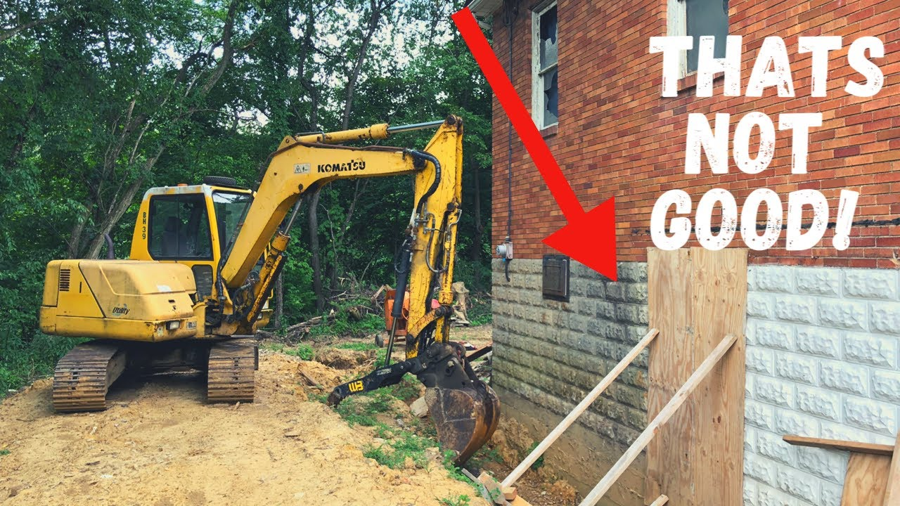 Fixing HUGE Foundation Issues at the Abandoned Church Renovation! Ep. 12