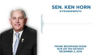 Sen. Horn joins the Frank Beckmann Show on WJR to discuss the budget