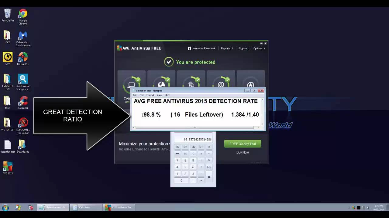 AVG Free antivirus 2015 review
