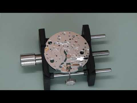 Part 1: ETA 7750 / Sellita SW500 Chronograph Automatic Watch Assembly