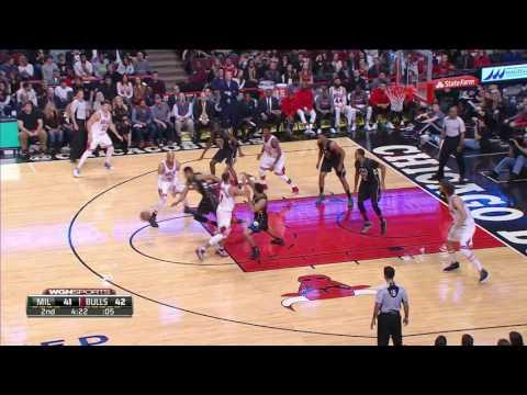 Milwaukee Bucks vs Chicago Bulls | December 31, 2016 | NBA 2016-17 Season
