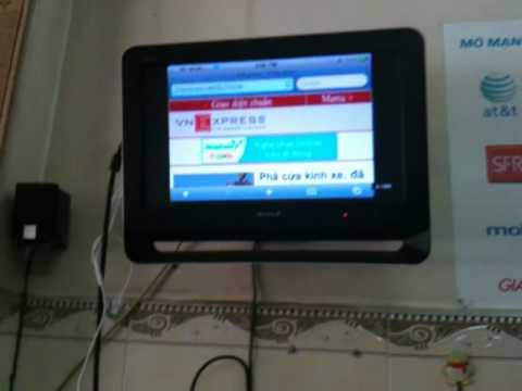 Cáp Tivi cho iphone,ipod,ipad có thể chơi game,xem phim, ....