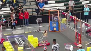 2018 FRC Power Up 5417 Allen Houston Lonestar Central Regional Week 3 Qm-24 qm24 #2018txho .