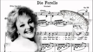 """Lucia Popp - """"Die Forelle"""" di F.Schubert, Op.32 D.550 (1983)"""