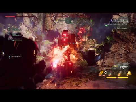 Anthem game play - call the medic |