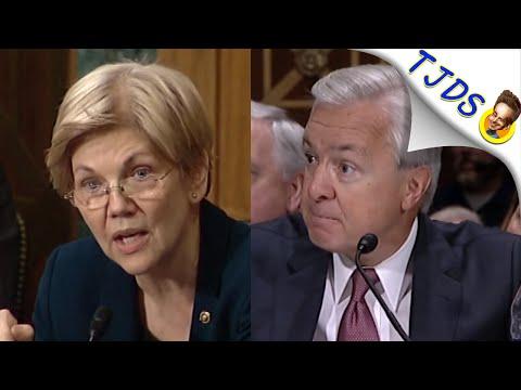 Elizabeth Warren More Gutless Than The Banker She Yelled At