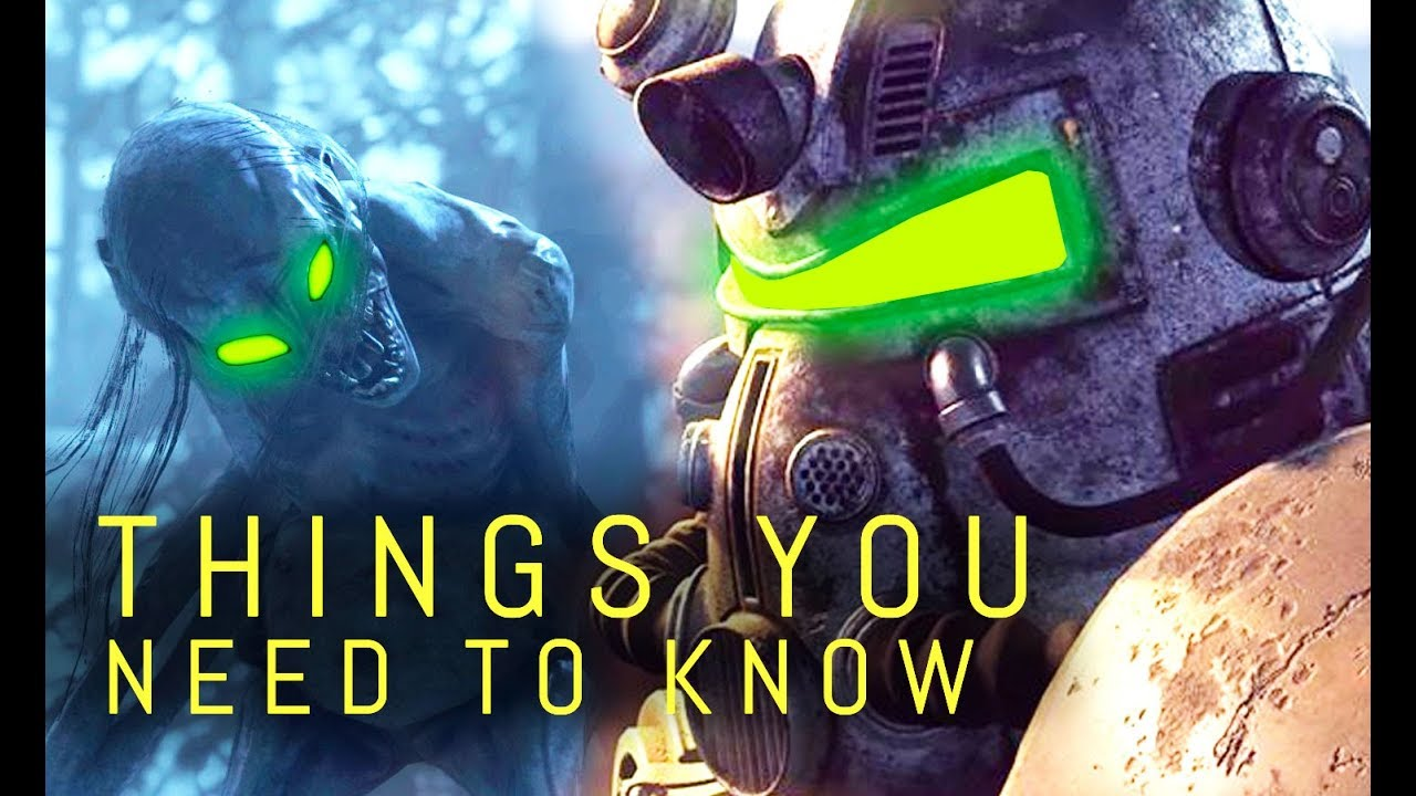 Fallout 76 Fallout 76 10 Things You Need To Know