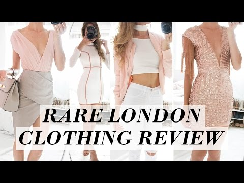 BEST UNKNOWN CLOTHING STORE  // Try-on // RARE LONDON REVIEW & HAUL //