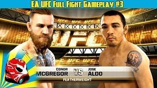 Jose Aldo vs. Conor McGregor Full Fight | EA Sports UFC 2014 Gameplay (Xbox One)