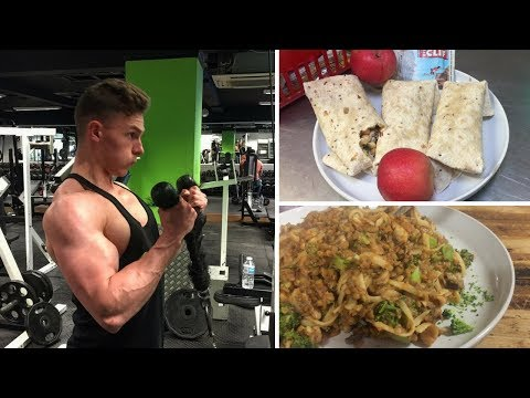 Vegan full day of eating for muscle gain | Farm edition